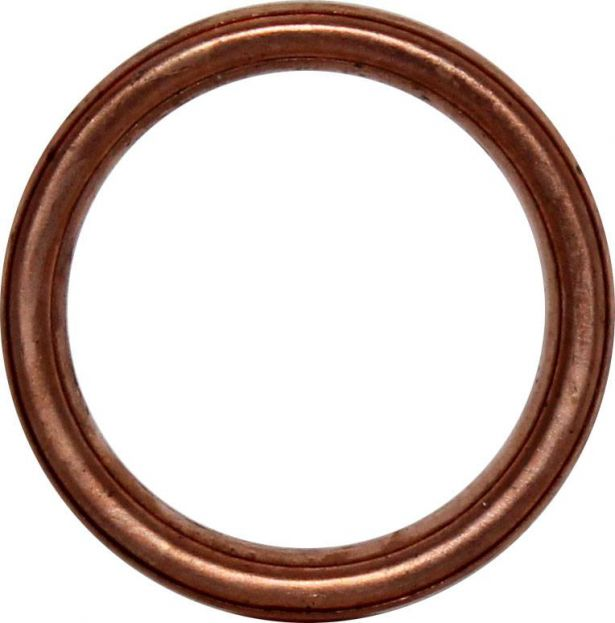 Exhaust Gasket - 150cc to 400cc, 40mm OD, ATV, Dirt Bike, 300cc, 2x4, 4x4 and 4x4 IRS