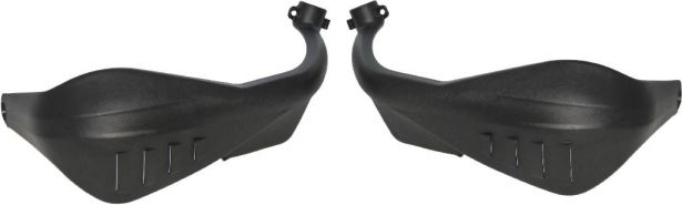Hand Guard - 150cc to 400cc, ATV, 300cc, 2x4, 4x4 and 4x4 IRS Black
