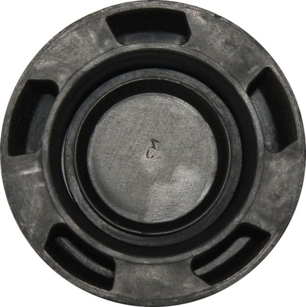 Fuel Tank Cap - Plastic, 150cc to 400cc, ATV, 300cc, 2x4, 4x4 and 4x4 IRS