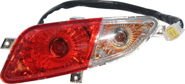 Rear Light - Right, 500cc, 550cc