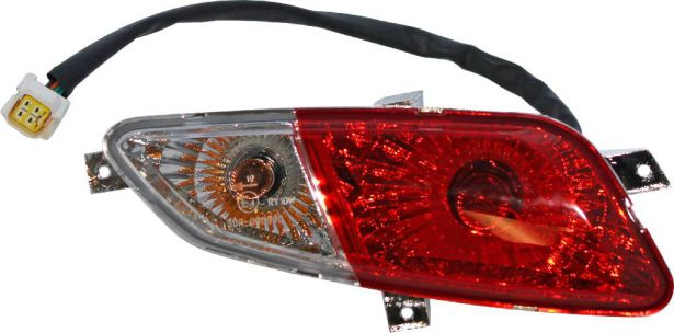Rear Light - Left, 500cc, 550cc