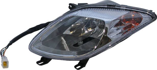 Front Light - Left, 500cc, 550cc