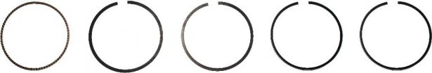 Piston Rings - 300cc / 550cc, 70mm (5pcs)
