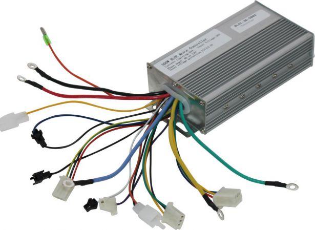 Controller - 36V/48V, 350W/500W, 22A, 60 or 120 Degree