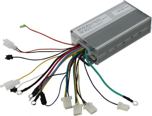 Controller - 48V, 500W, 25A, 120 Degree