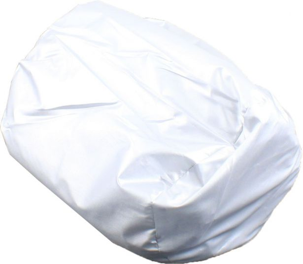 Universal Cover - ATV, Motorcycle & Scooter, Silver, Medium