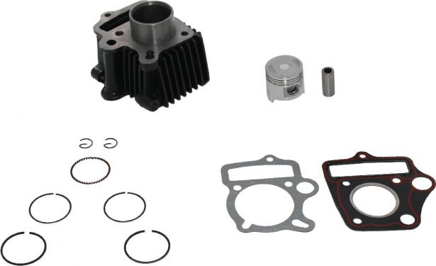 Cylinder Block Assembly - 50cc, Air Cooled