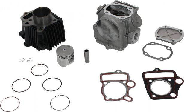 Top End Assembly - 70cc/90cc, Air Cooled, Complete Top End Assembly