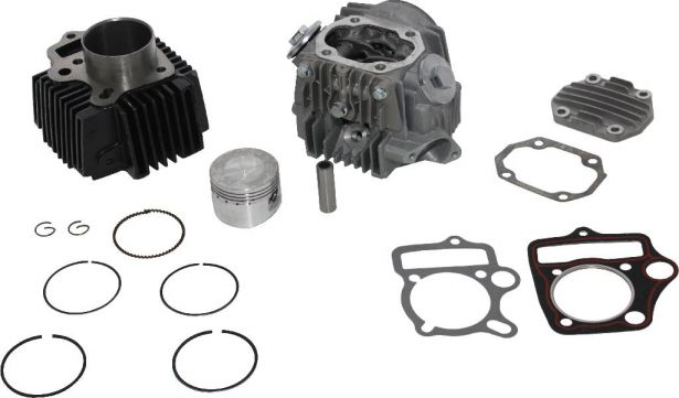 Top End Assembly - 110cc, Air Cooled, Complete Top End Assembly