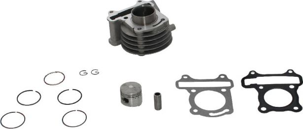 Cylinder Block Assembly - GY6, 50cc