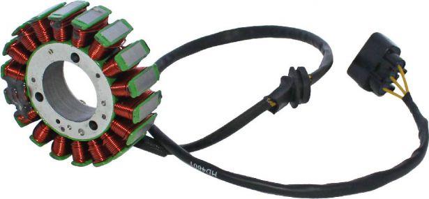 Stator - Magneto Coil, CG18, 3 Wire, UTV, Odes, 800cc