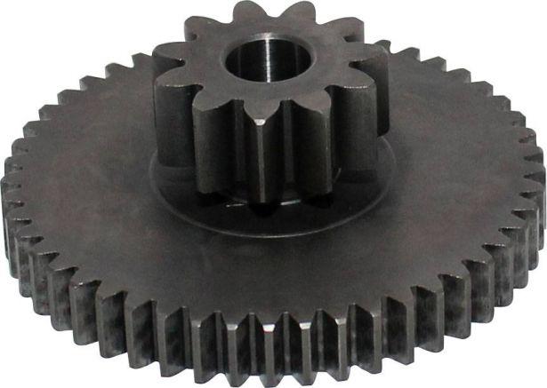 Starter Gear - Double Gear, 49T/11T, UTV, Odes, 800cc