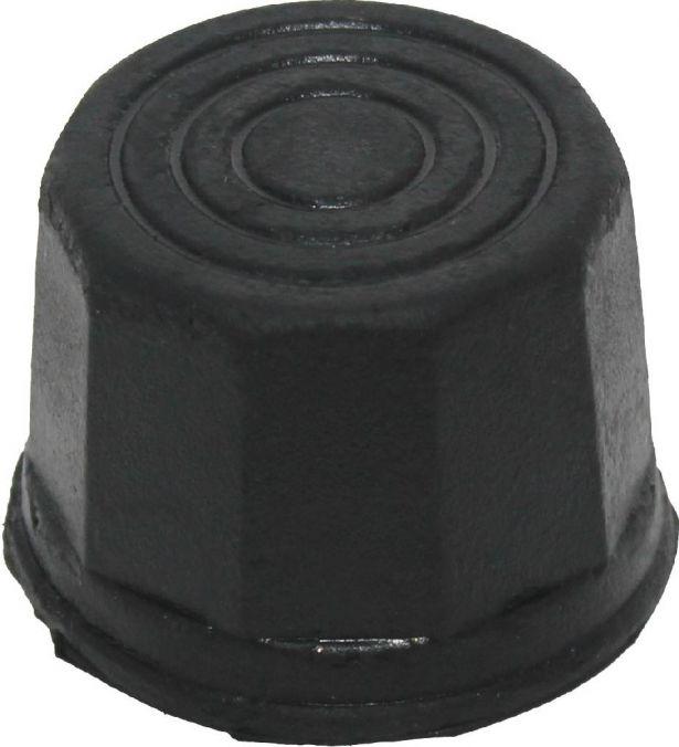 Dust Covers - Wheel Caps, 50cc - 300cc (2pcs)