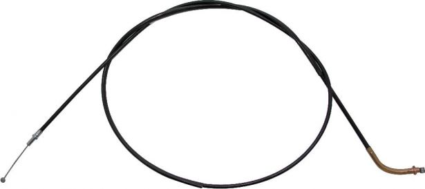 Parking Brake Cable -  Bent Connector, 211.5cm