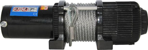 Winch - MNPS 4500lb, 12 Volt, Wireless Remote and Cabled Switch