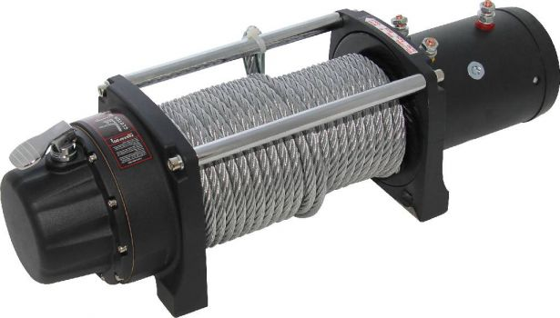 Winch - MNPS 8000lb, 12 Volt, Wireless Remote and Cabled Switch