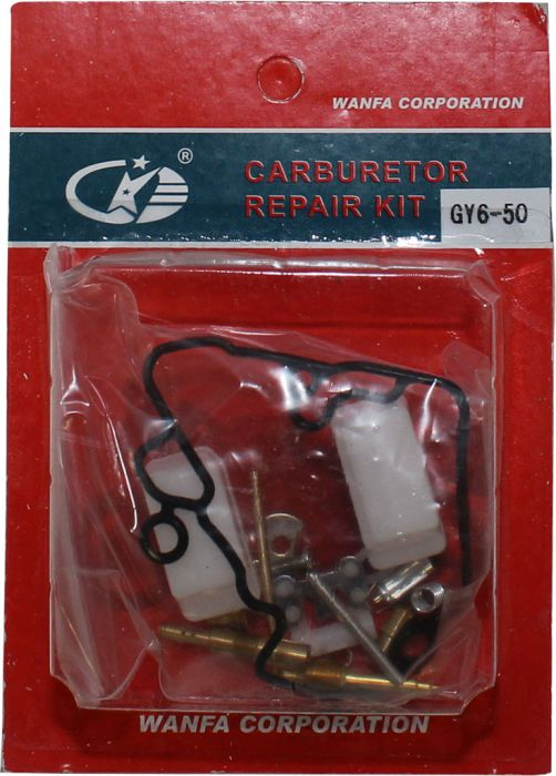 Carburetor Rebuild Kit - Carburetor Repair Kit, GY6-50