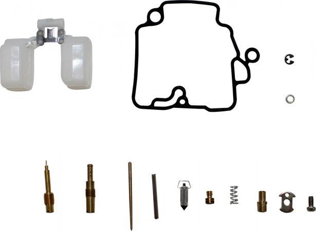 Carburetor Rebuild Kit - Carburetor Repair Kit, GY6-50
