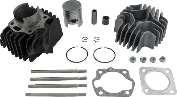 Top End Assembly - 50cc, Suzuki, LT50, Complete Top End Assembly