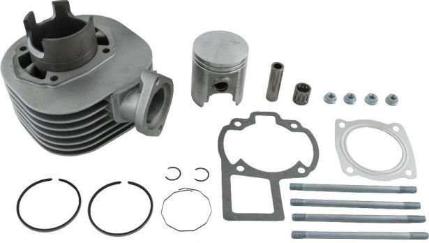 Cylinder Block Assembly - 80cc, Suzuki, LT80