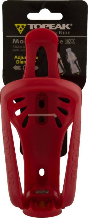 Cup Holder - Plastic, Adjustable, Red