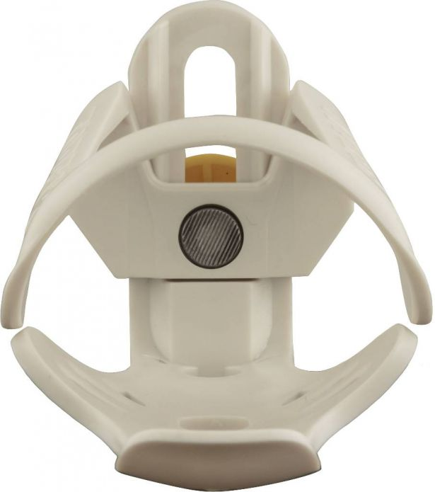 Cup Holder - Plastic, Adjustable, White