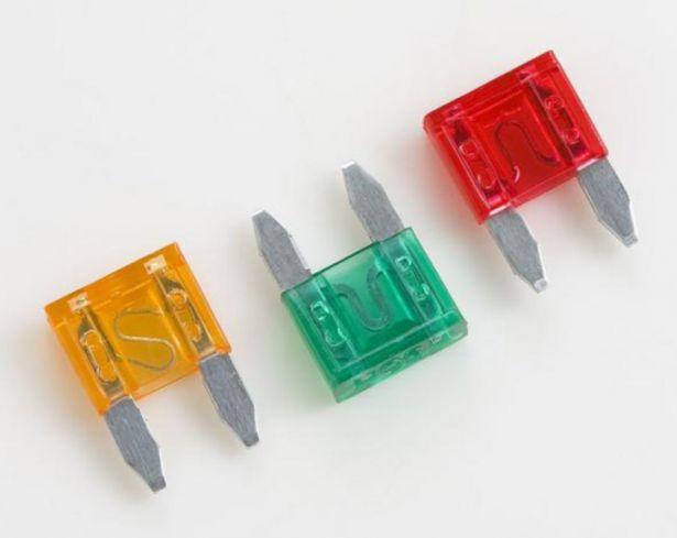 Mini Fuse - 3A, Violet (10pcs)