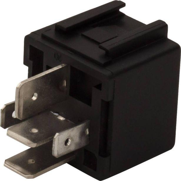 Control Relay - 14V 60/80A, 150cc to 400cc, ATV, 300cc, 2x4, 4x4 and 4x4 IRS