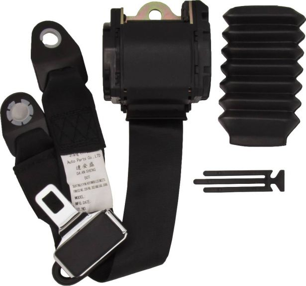 Seat Belt Assembly - 800cc, UTV, Hisun