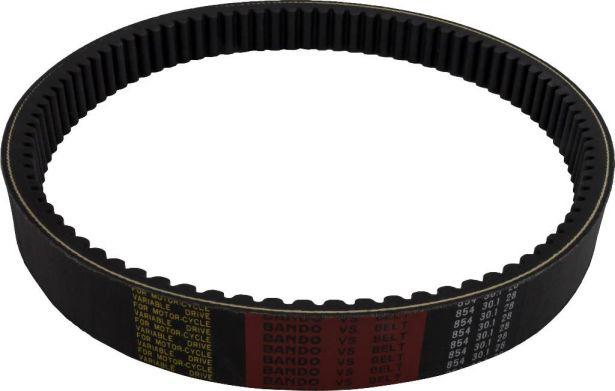 Drive Belt - Long Case, 854-30.1-28, Hisun, 400cc, ATV/UTV
