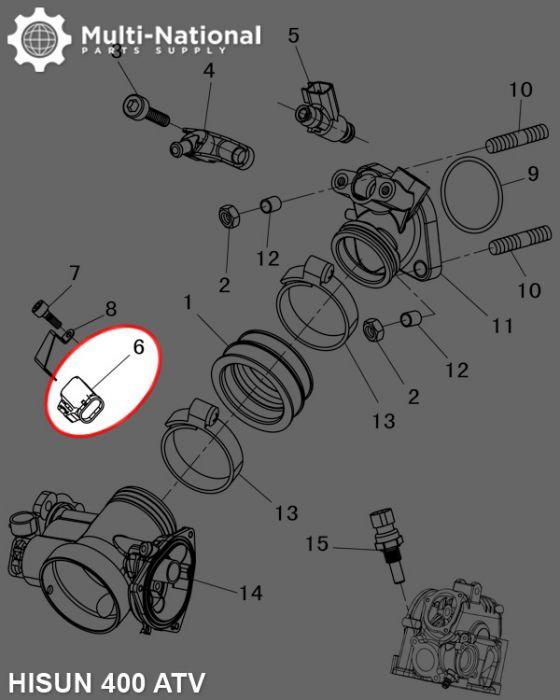 Intake Sensor - ATV/UTV, Hisun, 400-800cc