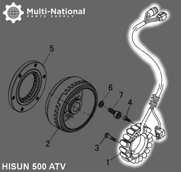 Magneto Coil Wiring Atv Diagram on