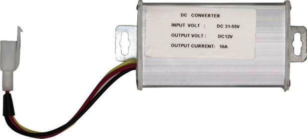 Converter Module - DC/DC, 31-55V Step Down to 12V, 10A
