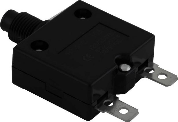 Circuit Breaker - Push Button, 10A, HT-01C, 125/250VAC, 32/50VDC