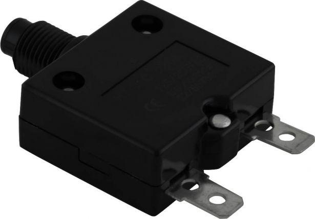 Circuit Breaker - Push Button, 20A, HT-01C, 125/250VAC, 32/50VDC