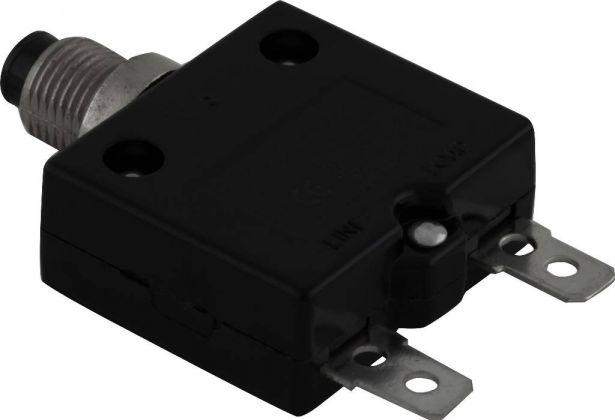 Circuit Breaker - Push Button, 35A, HT-01C, 125/250VAC, 32/50VDC