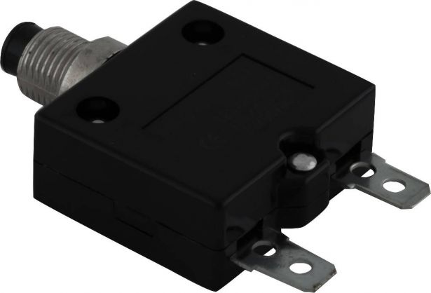Circuit Breaker - Push Button, 45A, HT-01C, 125/250VAC, 32/50VDC