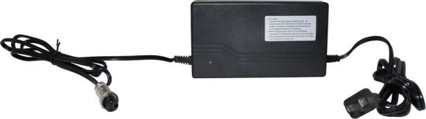 Charger - 24V, 3A, 3-Pin Inline Plug (Female DIN)