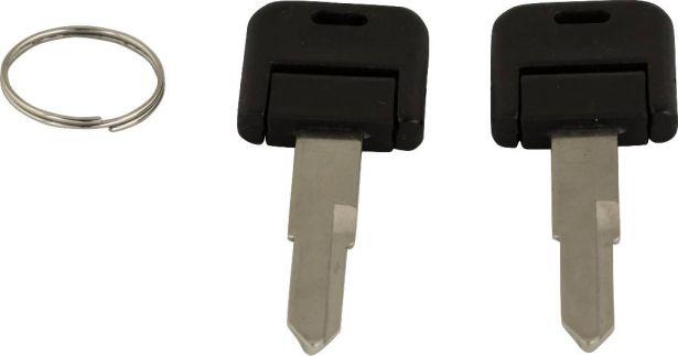 Key Blanks - Scooter, GY6, 2pcs