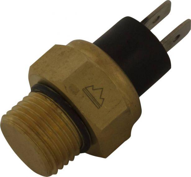 Temperature Sensor - Thermoswitch, CF Moto, Linhai, Xingyang, Baja, Chironex, CF188, 125cc, 150cc, 250cc, 400cc, 500cc, 520cc, 600cc, 625cc, 800cc, 1100cc