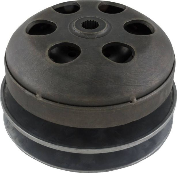 Clutch - Drive Pulley with Clutch Bell, CF250, CH250, 19 Spline