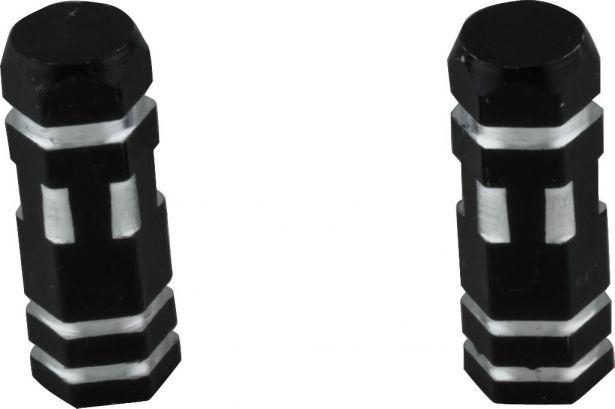 Valve Stem Caps - Black