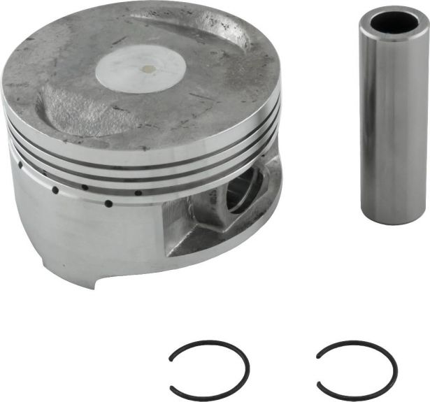 Piston and Ring Set - 150cc, GY6, 61mm, 15mm (9pcs)