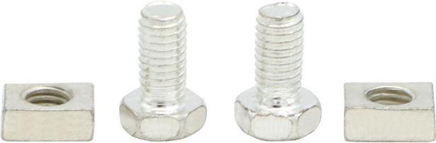 Battery Terminals - Nut & Bolt (4pcs)