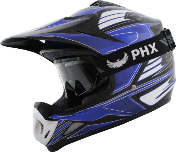 PHX GPro Youth X Goggles - Gloss Black