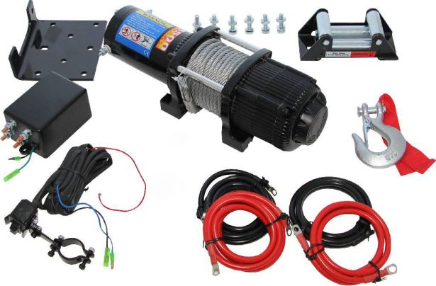 Winch - MNPS 4500lb, 12 Volt, Cabled Switch