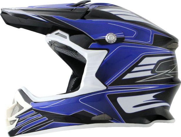 PHX Raptor - Tempest, Gloss Blue, S