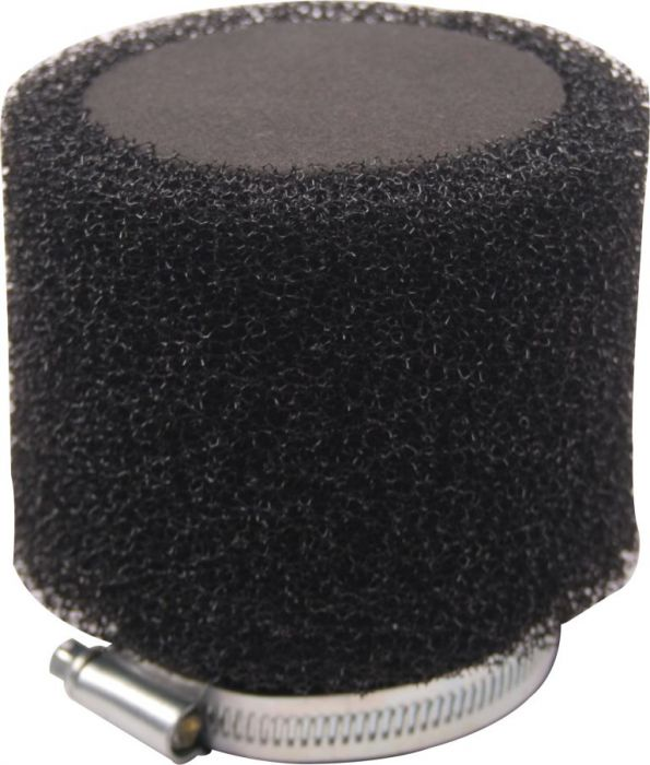 Air Filter - 41mm to 43mm, Sponge, Straight, Yimatzu Brand, Black