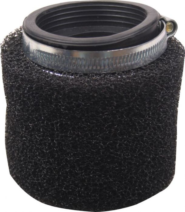 Air Filter - 41mm to 43mm, Sponge, Straight, Yimatzu Brand, Black