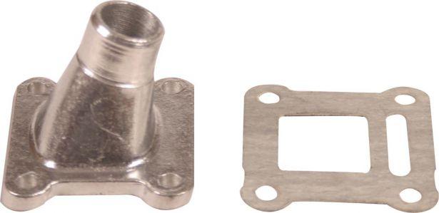 Intake - 15mm, 2 Stroke, Aluminum, 2pc
